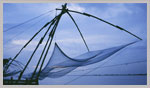 chineswe fishing net kerala cochin
